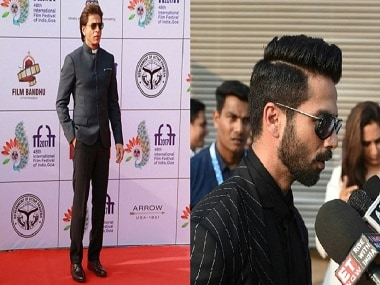 IFFI 2017 opening ceremony: SRK inaugurates the festival; Shahid Kapoor talks about Padmavati