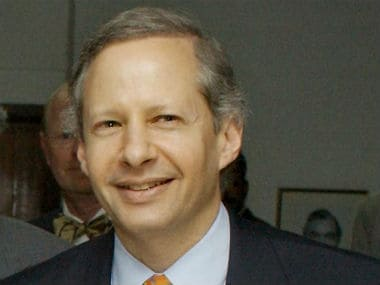 File image of US ambassador to India Kenneth Juster. AFP