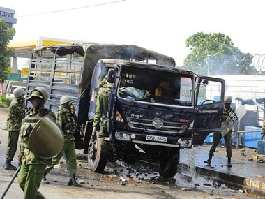 Violence after the election in Kenya, AP