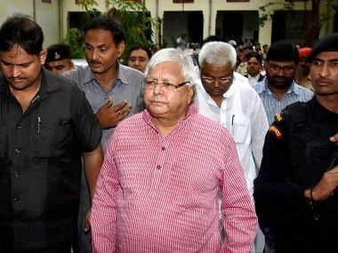 Fodder scam verdict updates: Lalu Prasad sentenced to 3 and a half years in jail, Tejashwi Yadav says will move HC for bail