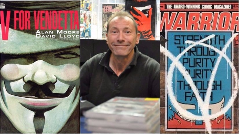 V for Vendetta artist David Lloyd on bulletproof ideas, and what Marvel, DC got wrong