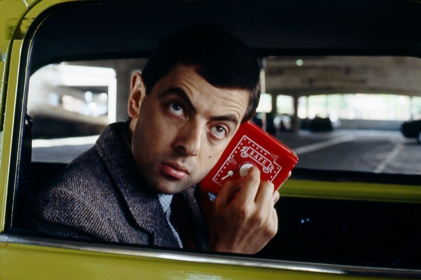 Rowan Atkinson as Mr Bean. Image from Facebook/@MrBean
