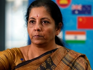 File image of defence minister Nirmala Sitharaman. Reuters