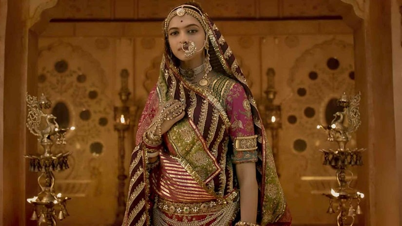 Deepika Padukone in a still from Padmavati. YouTube screengrab