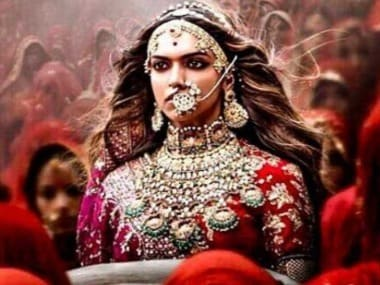 Deepika Padukone in a publicity still from the film Padmavati