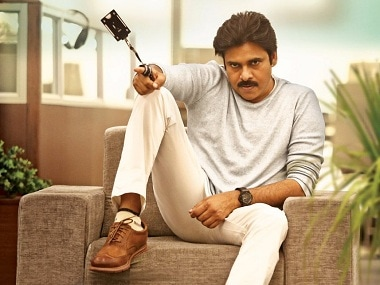 Pawan Kalyan in the first look of Agnyaathavaasi - Prince in Exile. Image from Twitter/@haarikahassine