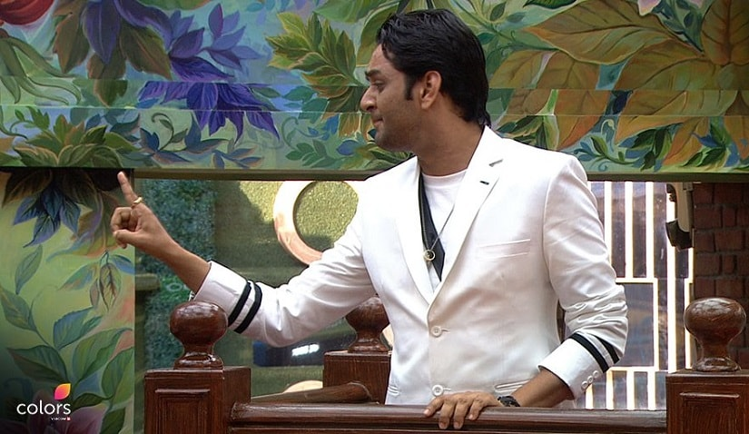 Vikas on Bigg Boss 11. Image from Twitter/@BiggBoss