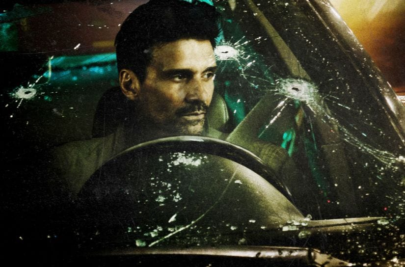 Frank Grillo plays the titular Wheelman in Netflix's latest film. YouTube