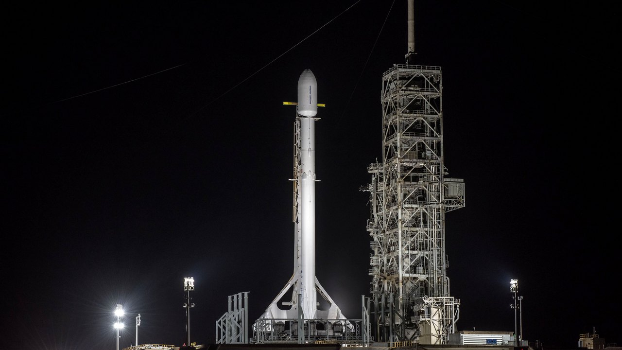 Zuma on the Falcon 9 rocket. SpaceX