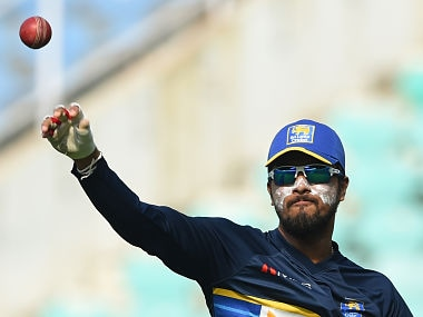 File image of Dinesh Chandimal . AFP
