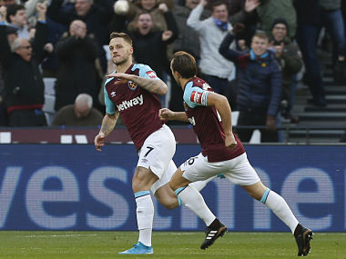 Premier League: Marko Arnautovics early strike helps West Ham United down Chelsea
