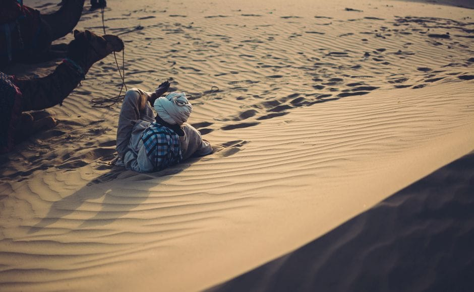 There is life in the desert. A life much entwined with the elements. The sun, the sands and things that just won't die. Photograph by Harsh Pareek