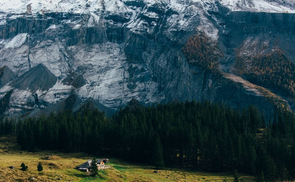 Kandersteg: And finally, there's the home you always drew in your pre-school classes. Photograph by Harsh Pareek
