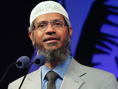 File image of Islamic preacher Zakir Naik. News18