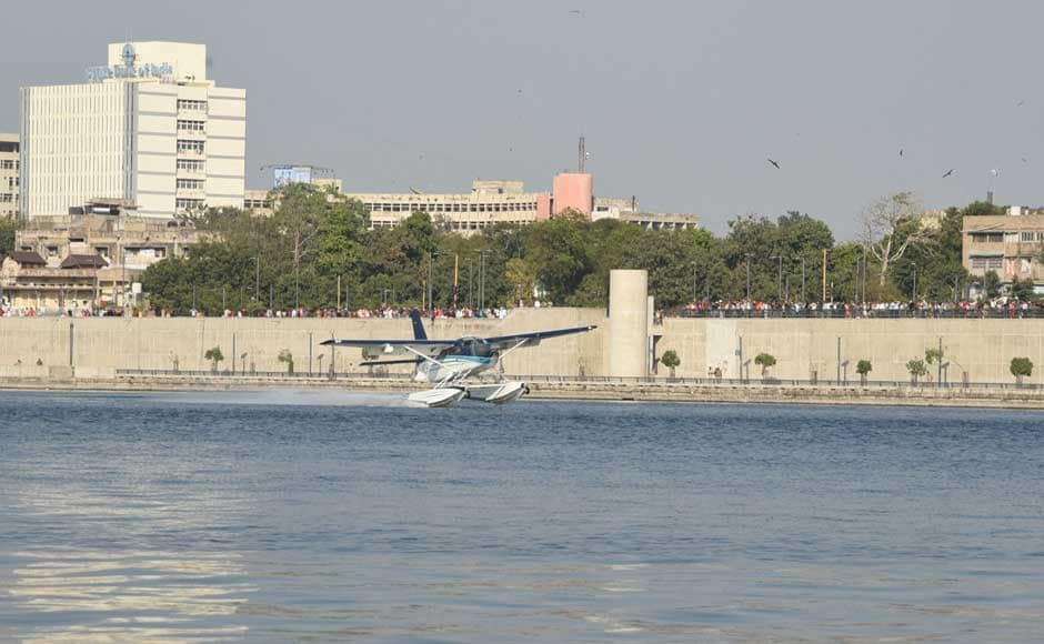 When asked why Modi took the seaplane, BJP official Jagdish Bhavsar said,