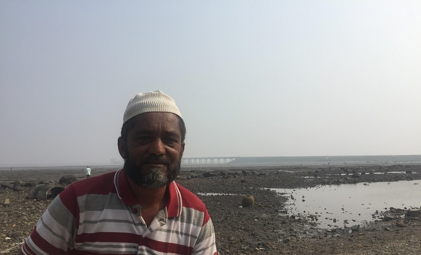 Munaf Abdul, 45, says that when the ships embark and disembark from the jetty, they rupture the fishing nets. Firstpost/Parth MN