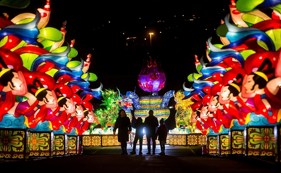 Let there be light: An illuminating walk through the Vancouver Chinese Lantern Festival