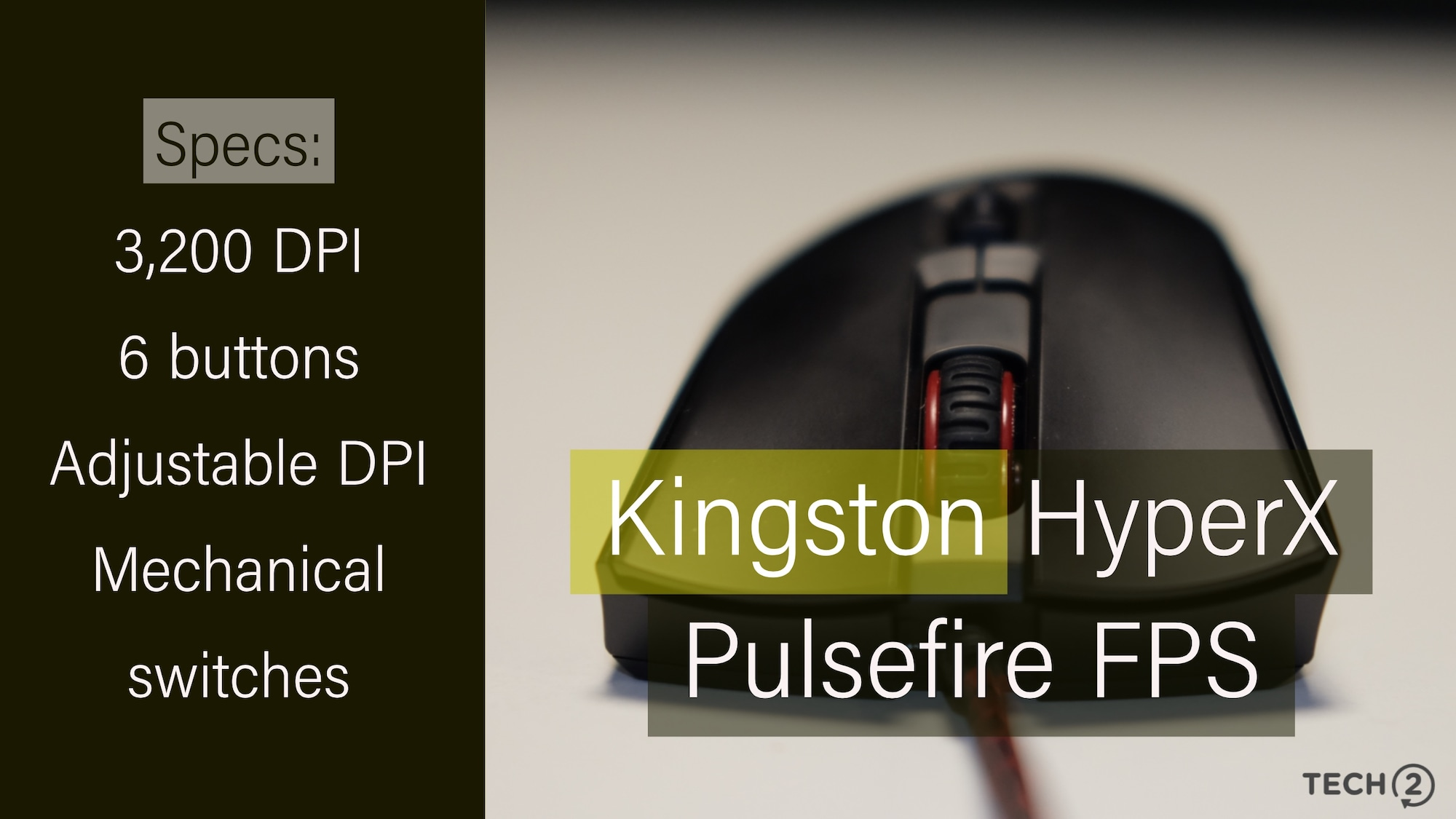 Kingston HyperX Pulsefire FPS gaming mouse review: For the