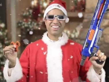 Ajit Pai making his case on repealing net neutrality regulations. Image: The Daily Caller