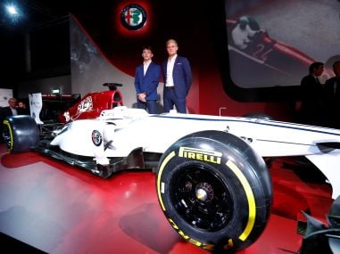 Formula One: Alfa Romeo Sauber unveil slick car, confirm Marcus Ericsson, Charles Leclerc as drivers for 2018
