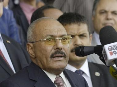 File image of Ali Abdullah Saleh. AP