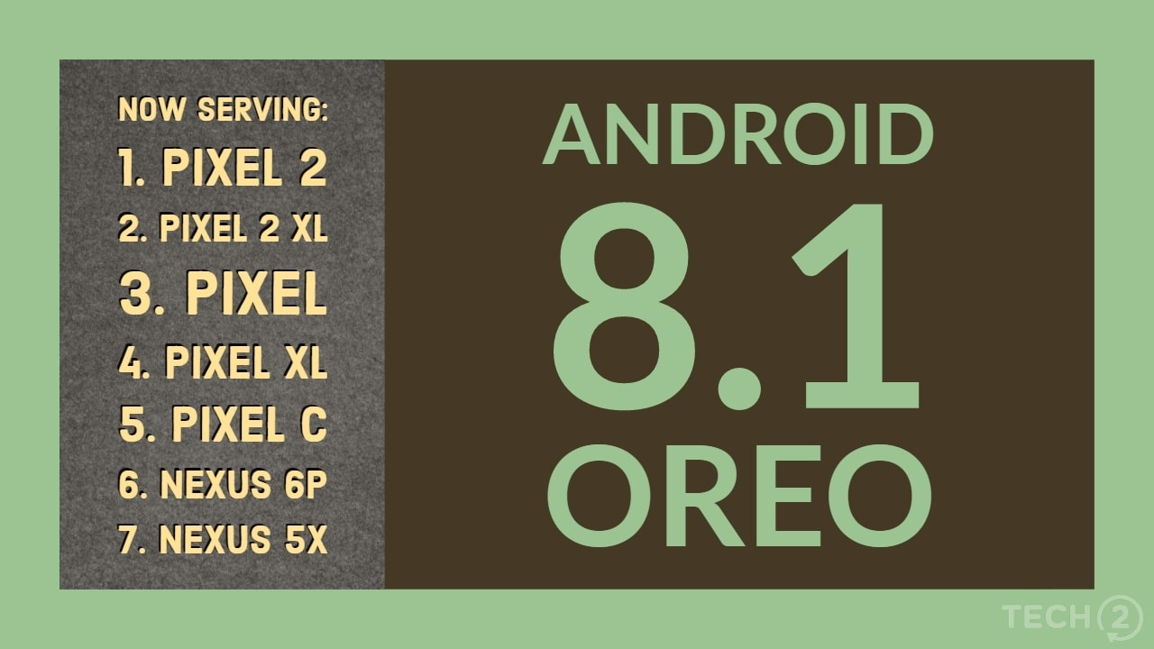 Android 8.1 Oreo is now available for download