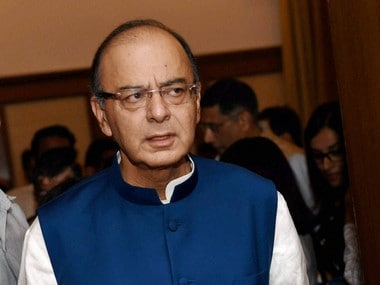 File image of Finance Minsiter Arun Jaitley. PTI