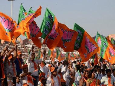 BJP_flags_AFP