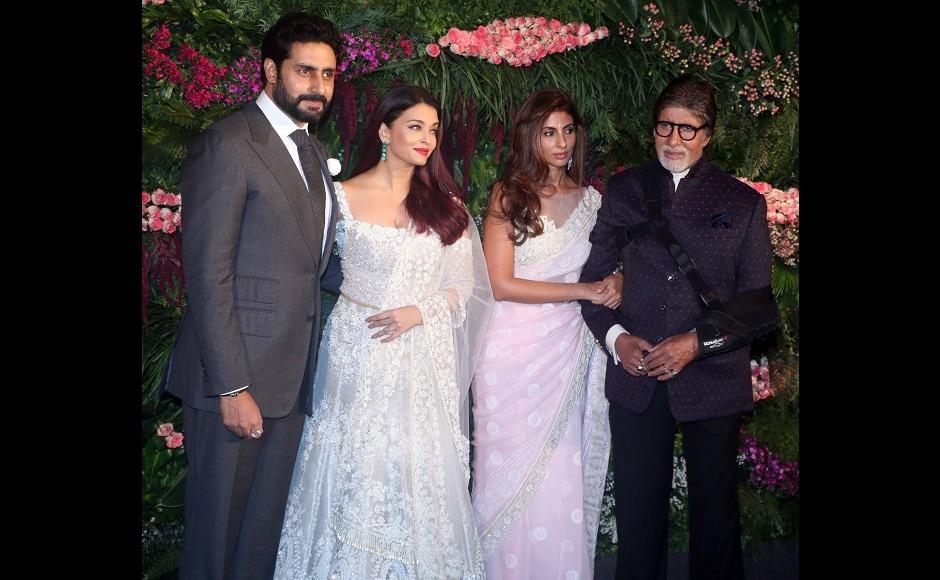 Anushka Sharma, Virat Kohli Mumbai reception: SRK, Bachchans, Sachin Tendulkar spotted