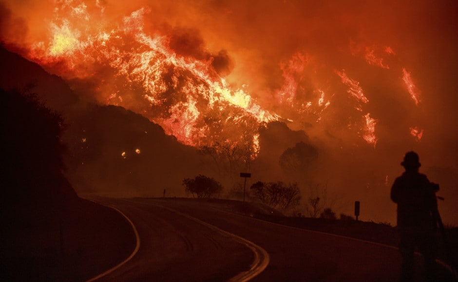 Evacuees in San Diego County, where a 4,100-acre fire was only 15 percent contained as of late on Friday night, told of swiftly encroaching flames that left at least six people injured, prized racehorses dead and dozens of homes in ruins. AP