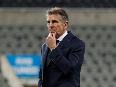 Leicester City manager Claude Puel. Reuters