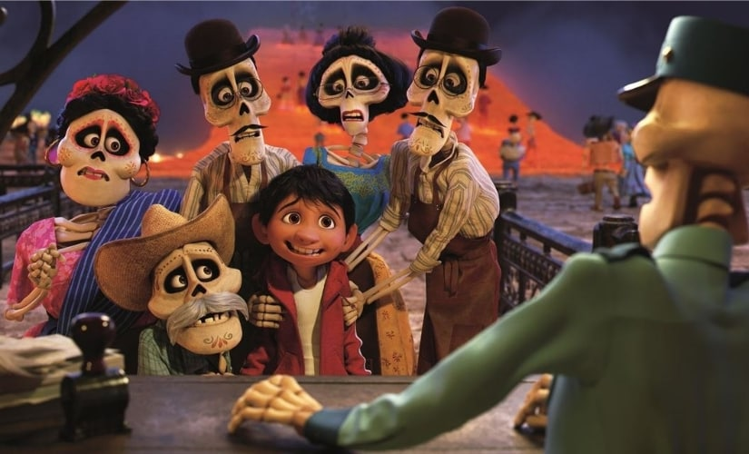 A still from Coco/Image from Twitter.
