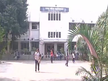 File image of Patna's Magadh Mahila College. Courtesy: Twitter/@ANI