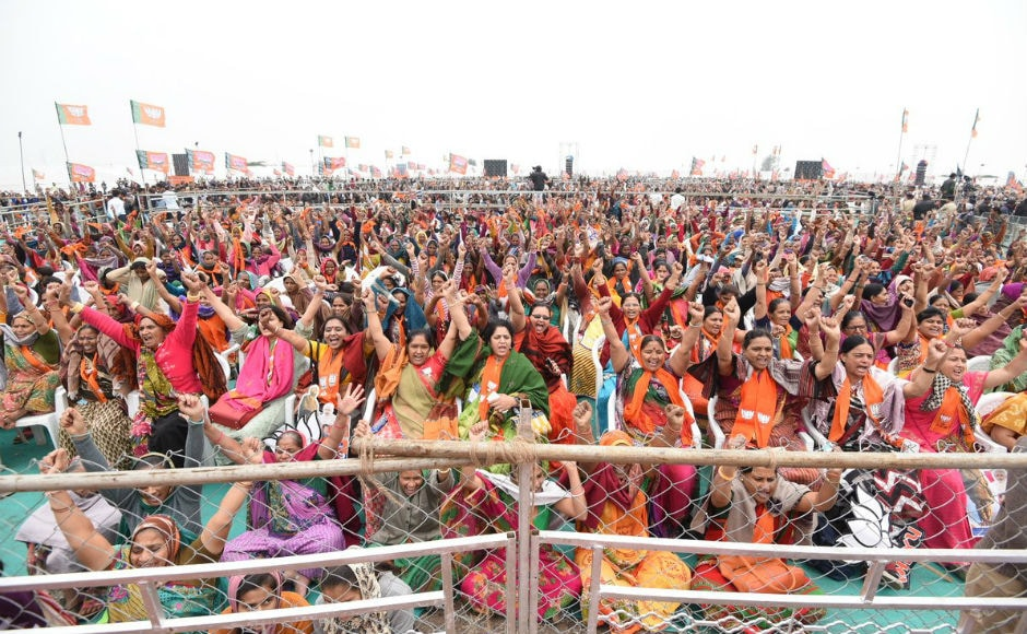 Cyclone Ockhi has played spoilsport in political rallies. While Modi's Surat rally, which was earlier scheduled for Wednesday was postponed by a day, Rahul Gandhi's rally in Morbi and Surendranagar was cancelled due to bad weather conditions. Twitter/@narendramodi