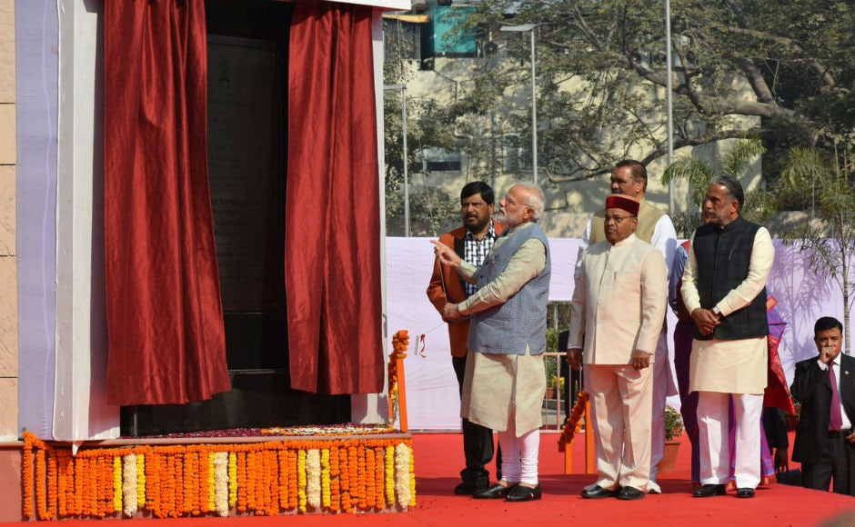 Prime Minister Narendra Modi on Thursday inaugurated the BR Ambedkar International Centre in New Delhi and said it would be an important place for research on social and economic issues. Twitter/@PIB_India