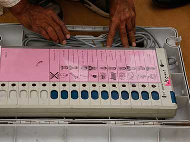 Madhya Pradesh polls: Congress registers complaint with Election Commission, expresses concern over EVM security