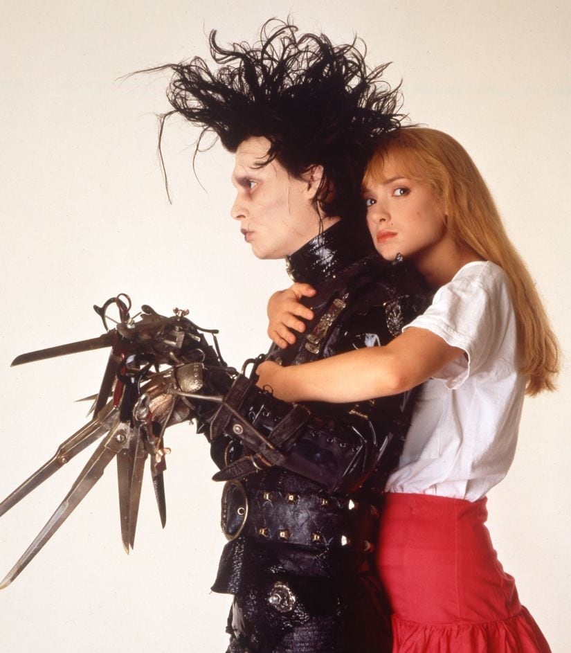Edward Scissorhands: How Tim Burtons cult classic led to an enduring collaboration with Johnny Depp
