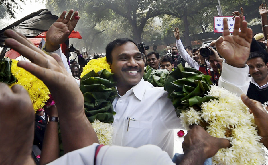 A special CBI court on Thursday acquitted 19 accused, including former telecom minister A Raja and DMK leader Kanimozhi in the Enforcement Directorate's money laundering case relating to the 2G scam. PTI