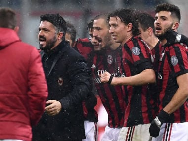 Serie A: Giacomo Bonaventuras brace gives Gennaro Gattuso his 1st win as AC Milan coach; Chievo frustrate AS Roma