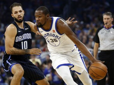 NBA: Golden State Warriors cruise past Magic; San Antonio Spurs hand Memphis Grizzlies their 10th straight defeat