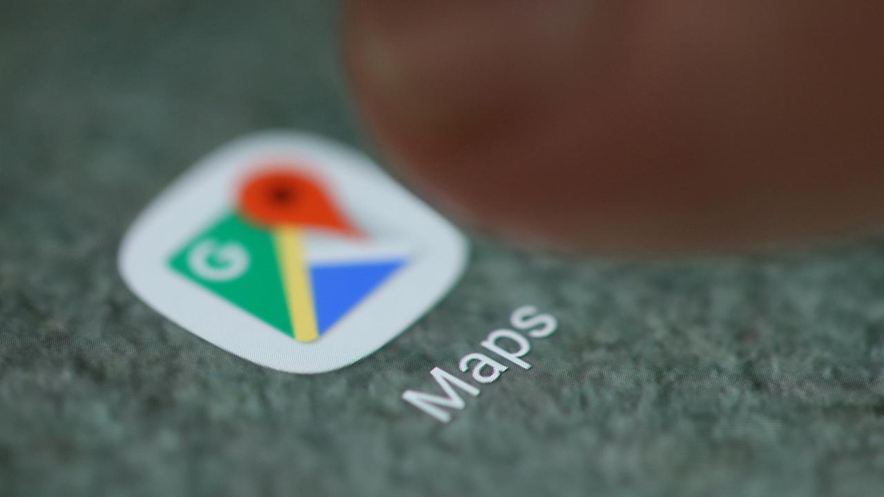 Google Maps. Image: Reuters