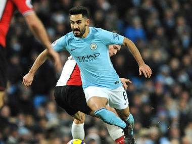 File image of Manchester City's Ilkay Gundogan.