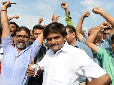 File image of PAAS leader Hardik Patel. AFP
