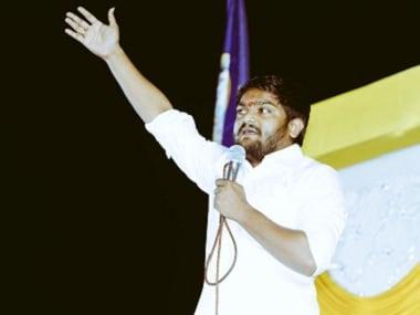 File image of Patidar quota leader Hardik Patel. Twitter@HardikPatel