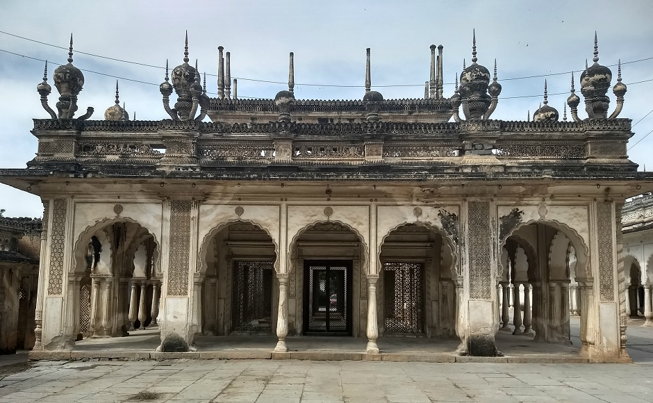 The Paigah Tombs have been included in a heritage circuit in Hyderabad and Rs 4.10 crore has been sanctioned to restore their grandeur. Photograph by Mallik Thatipalli