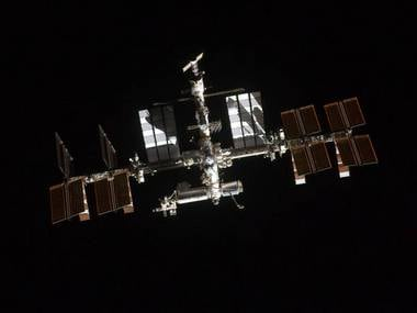 The International Space Station seen in space. Image: NASA