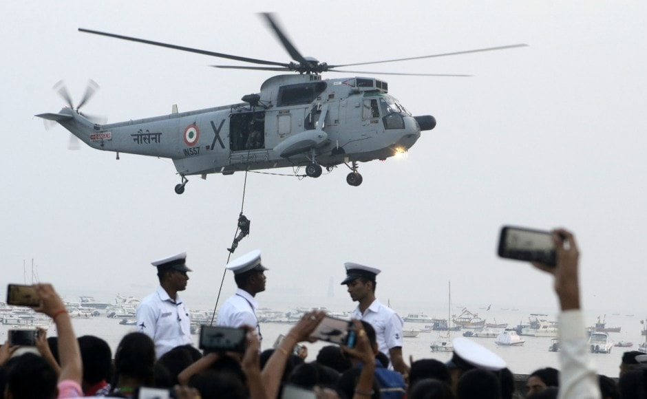 From a force of less than half a dozen sloops to one that has 135 ships and 235 aircraft, Indian Navy has grown quietly but steadily. AP