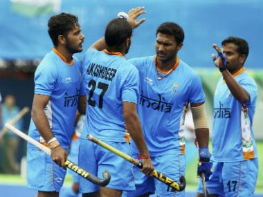 File image of the India men's hockey team. Reuters