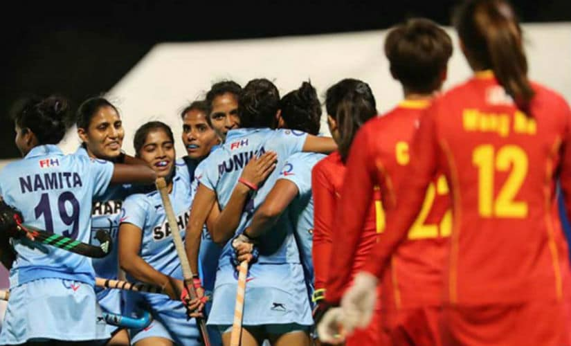 Aggression became the buzz-word in the India's women's hockey team. Hockey India
