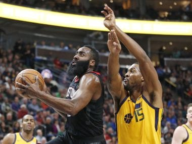 NBA: James Harden scores 29 points to take Rockets past Jazz; Nets defeat Thunder